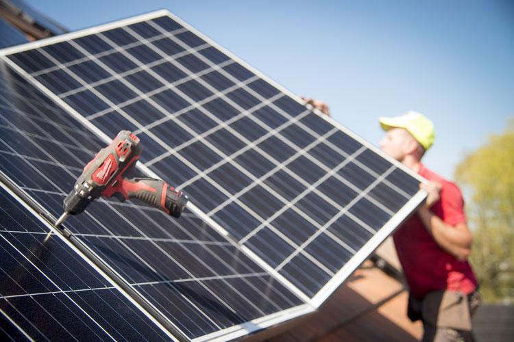 Pose panneaux photovoltaïques Eupen