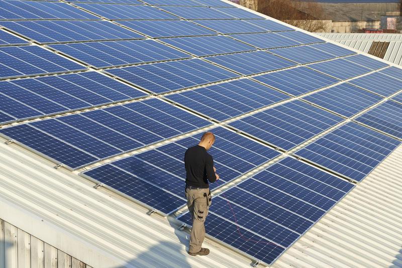 Panneaux photovoltaiques entreprise