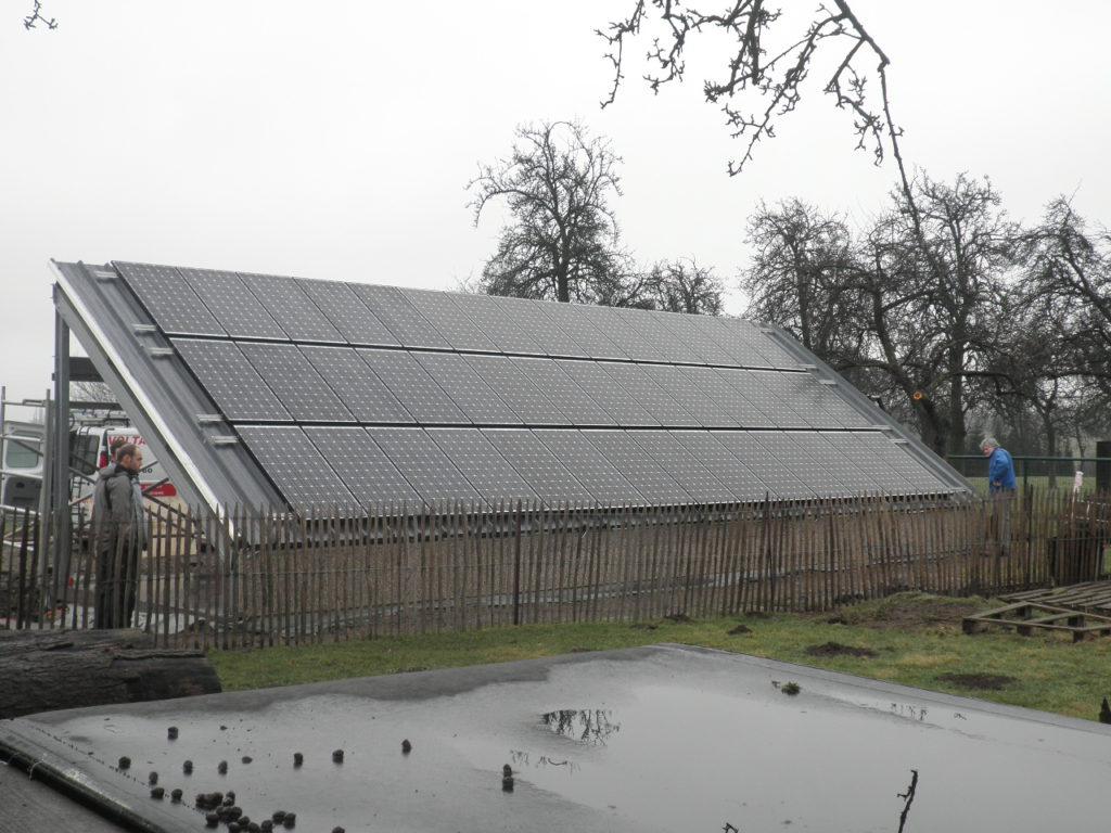 Panneaux photovoltaiques réalisation