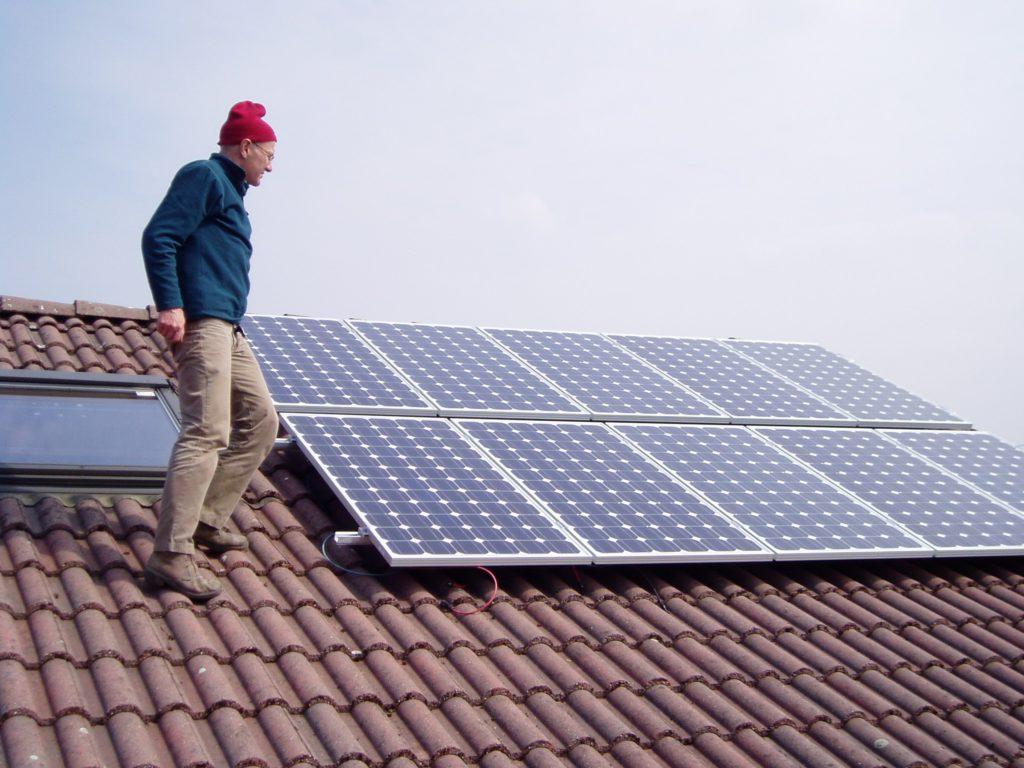 Panneaux photovoltaïques pose