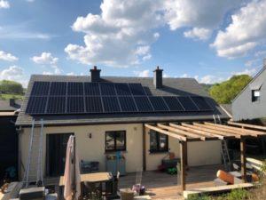 Installateur photovoltaïque certifié Liège Neufchâteau après