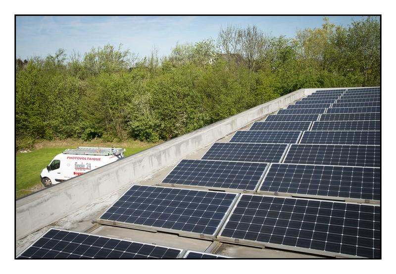 Installation photovoltaïque à Liège