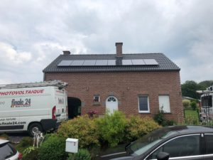 Installation photovoltaïque Liège Aywaille après (1)