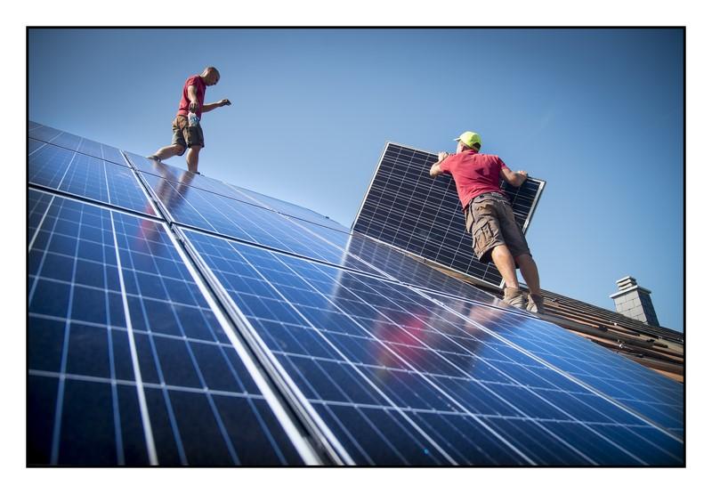 Panneaux photovoltaïques à Liège