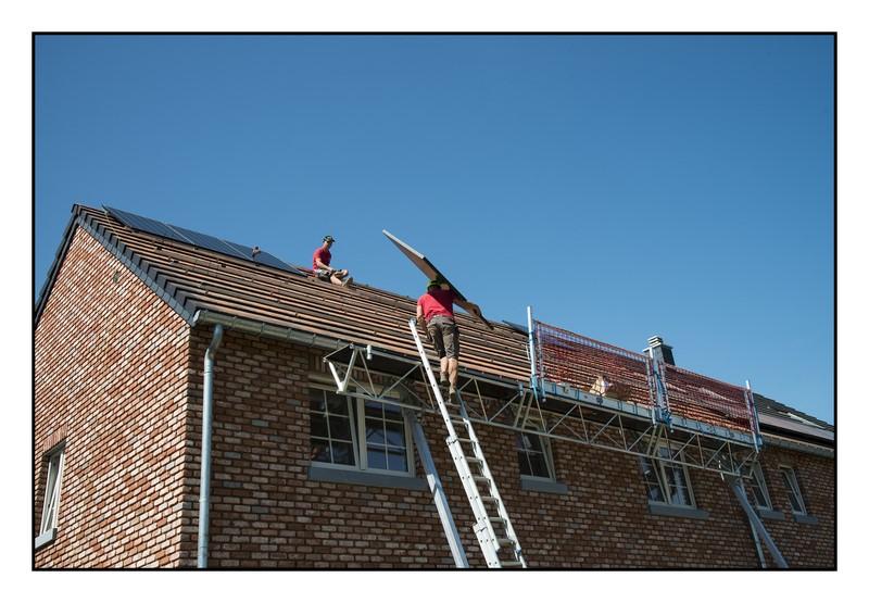Placement de panneaux photovoltaïques