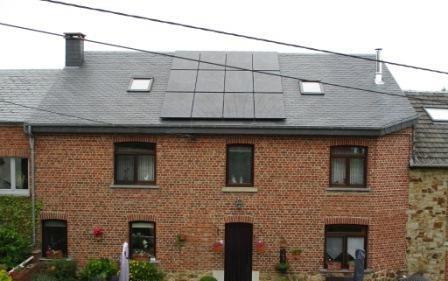 Placement panneaux photovoltaïques Liège Mormont après