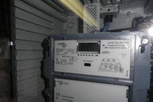 Installation photovoltaïque et le compteur intelligent