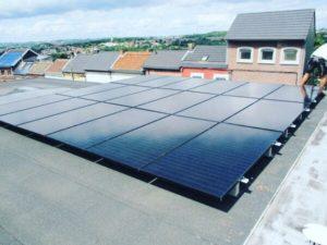 Panneaux photovoltaïques à Saint-Nicolas