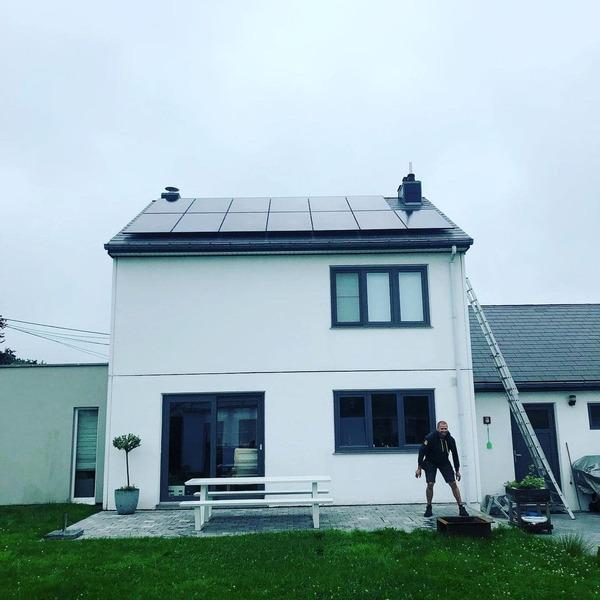 Placement photovoltaïques à Petit-Rechain, Province de Liège
