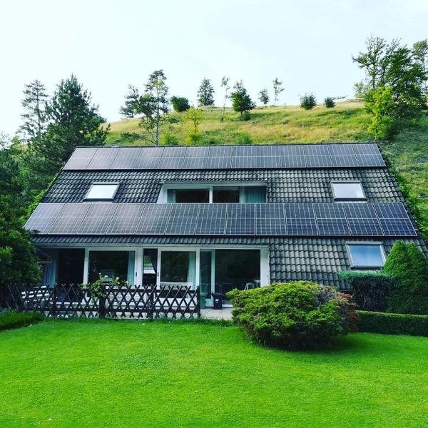 Panneaux photovoltaïques à Liège, vieuxville