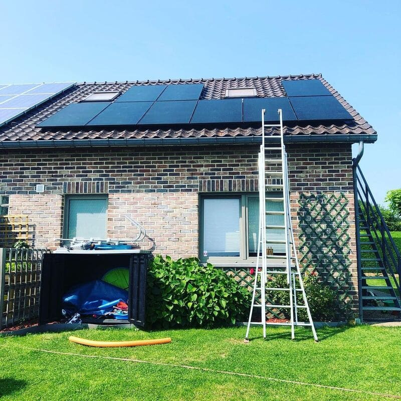 Installation de panneaux photovoltaïques à Jalhay